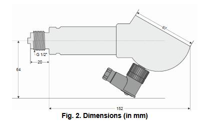 Presostat różnicowy z wyświetlaczem do cieczy i gazów Smart DCM HONEYWELL
