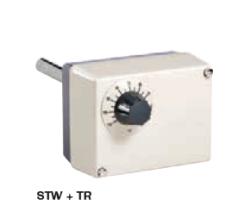 Termostat bezpieczeństwa z pokrętłem nastawczym, wyłącznikiem i automatycznym resetem STWTR HONEYWELL