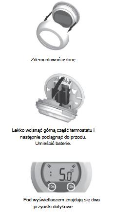 Bezprzewodowy termostat z czujnikiem temperatury T87RF HONEYWELL