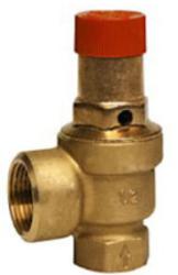 Membranowy zawór bezpieczeństwa do wodnych systemów zamkniętych i solarnych SM120 HONEYWELL