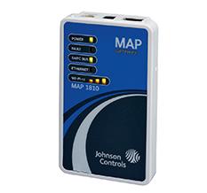 Zestaw do montażu stacjonarnego zawierający uchwyt ścienny i adapter magistrali - JOHNSON CONTROLS - MP-STAKIT-0