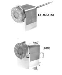 Termostat do regulacji ciepłej wody użytkowej L41 i L61 HONEYWELL