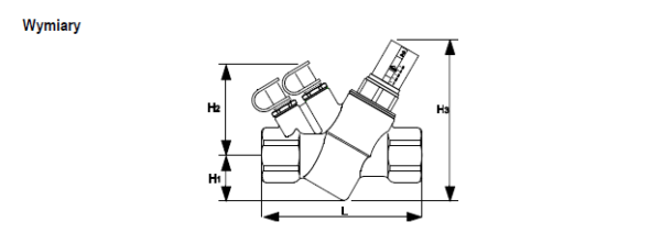 Regulator przepływu V5003F Kombi-VX HONEYWELL Braukmann