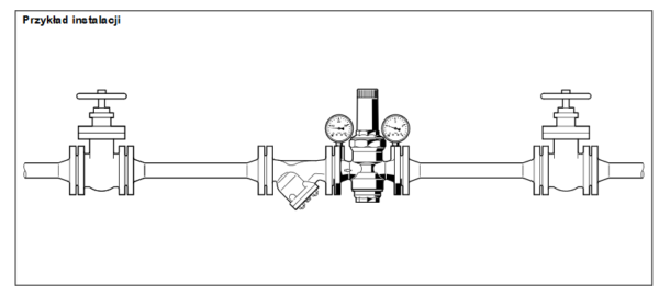 Regulatory ciśnienia HONEYWELL D16N HONEYWELL