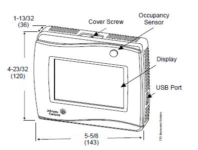 Termostaty bez i z komunikacją, BACnet MS/TP lub N2 Open TEC3000 JOHNSON CONTROLS
