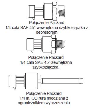Elektroniczny przetwornik ciśnienia P598 PENN