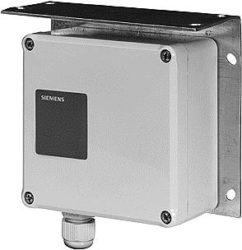 Czujnik różnicy ciśnienia do cieczy i gazów QBE61.3 SIEMENS