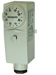 Przylgowy termostat regulacyjny RAM-TR, RAM-TW SIEMENS
