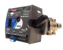 Zawory sześciodrogowe wraz z regulatorem VMA - SFC1656, SFC1930 Johnson Controls